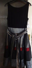 Black and Silver Dress Size 12