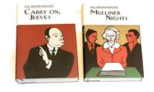 P.G.Wodehouse TWO Titles: Carry On, Jeeves And Mulliner  Nights HC