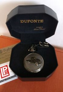 Vintage NOS Antiqued Pickk-up Truck Dufonte Lucien Piccard Pocket Watch in Box