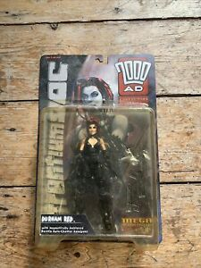 2000 AD - Judge Dredd -  Durham Red Mega - Action Figure Series 1 - Boxed