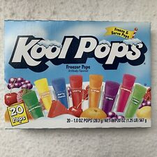 Kool Pops Freezer Pops 20 Pops