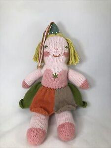 "BlaBla Mini Clochette The Fairy Knit Doll Fairy Stuffed Plush Girl 13"""