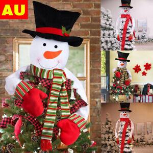 Snowman Xmas Christmas Tree Decoration Gifts Party Home Garden Decor AU
