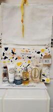 L'Occitane 6 Pieces Travel Size Mix Match Almond Shower ,Foot Cream Aqua Gel Bag
