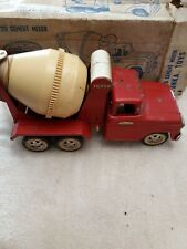 Antique Tonka No.120 Cement Mixer With Box / pressed steel / mounds Minnesota