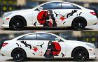 Uchiha Itachi Anime Car Side Body Door Vinyl Sticker Decal Fit Any Car