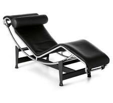 Chaise Longue - Poltrona relax di Design - Made in Italy Pelle pieno fiore