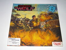 Operation Wolf  (Amiga, 1988) SEALED, Rare, Vintage Taito Game