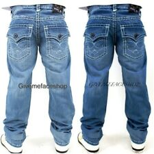 True Peviani urban hip hop g jeans, time is money straight pants