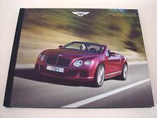Bentley . The New Bentley Continental GT Speed and GT Speed Convertible . 2014