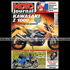 MOTO JOURNAL 1724 BMW F 800 ST HONDA NT 700 V DEAUVILLE KAWASAKI Z 1000 2006