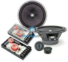 """FOCAL 165A1 SG 6.5"""" 120W RMS COMPONENT SPEAKERS CROSSOVERS TWEETERS NO GRILLES"""