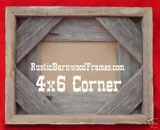 4x6 cr rustic barnwood barn wood picture photo frame
