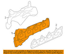 GM OEM-Exhaust Manifold 12607724