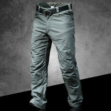 Waterproof Men's Military Tactical Pants Combat Cargo Outdoor Casual Trousers