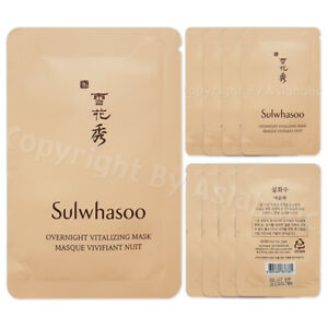 Sulwhasoo Overnight Vitalizing Mask 5ml (10pcs ~ 100pcs) Sample Newist Version