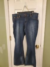 Torrid Source Of Wisdom Jeans Size 18 Slim Boot