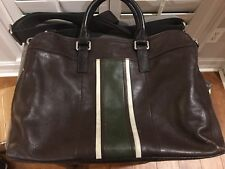 Fossil Laptop Computer Bag Brown Leather