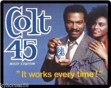 Colt 45 Beer Billy Dee Williams & Girl Refrigerator Magnet