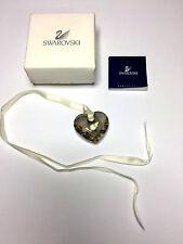 Collana con pendente Swarovski a Cuore Nuova Scatolata