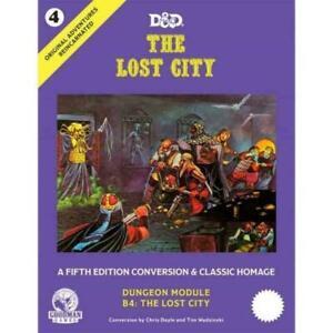 Dungeons & Dragons D&D 5e - Original Adventures Reincarnated: The Lost City
