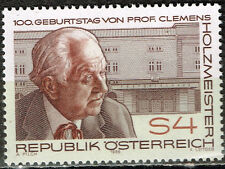 Austria Famous architect and stage designer Clemens Holzmeister stamp 1985 MNH