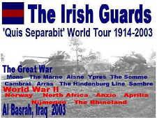 Irish Guards  8th Army British  ww2   Tshirt   Desert Rats