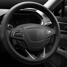 Steering Wheel Cover High grade Real Leather Long lasting elegant touch
