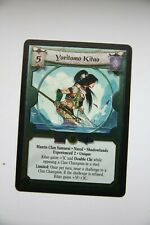 L5R CCG  Reign of Blood  FOIL YORITOMO KITAO EXP. 2