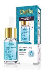 Delia 100 Face Neckline Serum Hyaluronic Acid Anti Wrinkle 10ml Dl018
