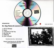 DR. DOG Takers & Leavers EP 2006 UK 6-track promo CD