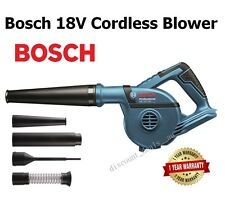 Bosch Cordless Blower 18V 270 km/h Wind Speed Garden Cleaning Construction