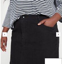 Very  Ladies Size 20 Black Denim  Skirt BNWT