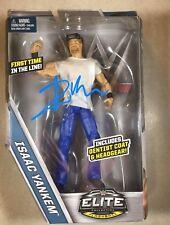 WWE DR. ISAAC YANKEM KANE  Signed Mattel Series Elite Action Figure