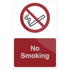 No Fumar signo 200 X 300mm Rígido señalización Señales De Seguridad