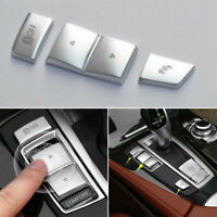 Gear Position Panel Button Cover Trim 3pcs For BMW 5 7 F01 F02 2010-2015 X3 F25