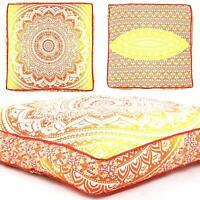 New Decor Mandala Boho Large Floor Pillow Cover Yoga Cushion Meditation Seating