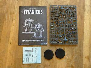 Adeptus Titanicus - Imperial Cerastus Knights x 2