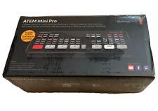Blackmagic Design ATEM Mini PRO HDMI Live Stream Switcher Interview NEW