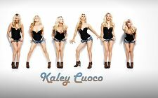 The Big Bang Theory Kaley Cuoco 11x17 Poster Great for framing or autographs