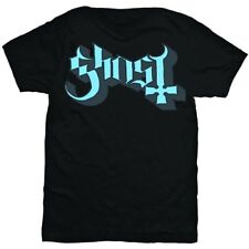 |es1024207| Ghost - Blue/grey Keyline logo (t-shirt unisex TG. S)