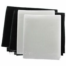 2 x Vent Filters For CDA GDA Cooker Hood Foam Filter Cut to Size 57cm