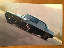 Tin Sign Vintage Camero Muscle Car
