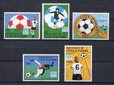 s5331)COSTA D'AVORIO 1978 MNH** W.C. Football - Campionati del Mondo Calcio 5v.