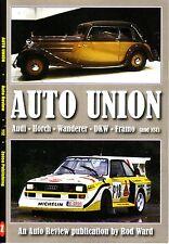 Book - Auto Union - Audi Horch Wanderer DKW NSU - Quattro 80 90 100 TT A-Series
