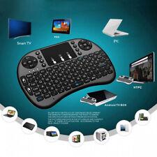 Mini 2.4GHz Inalámbrico Teclado Remoto Qwerty Touchpad Adecuado AndroidTV BOX PC