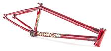"FIT BIKE CO SAVAGE FRAME 21 TRANS RED MATT NORDSTROM EDITION 21"" BMX BIKES"