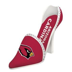 Arizona Cardinals High Heel Shoe Wine Bottle Holder