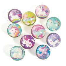 12 x Unicorn Bouncing Balls... Party..Bag Fillers...Favors..Stocking
