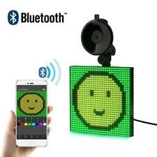 New listing 12V Bluetooth Wireless Car led Sign App Control Rgb Programmable Scrolling Messa